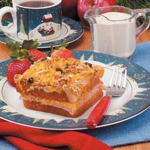 Apple-Cheddar French Toast Recipe
