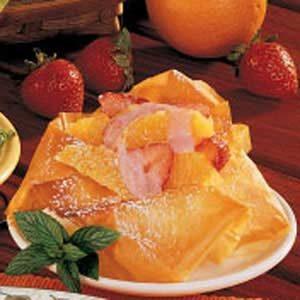 Strawberry-Orange Phyllo Cups Recipe