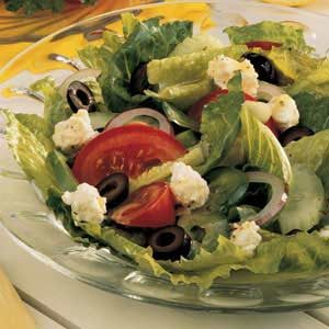 Tossed Greek Salad Recipe