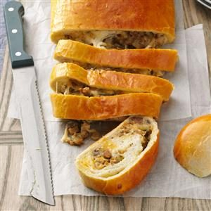 Breakfast Sausage Bread Recipe