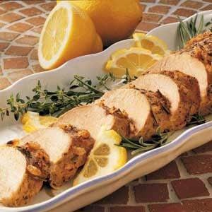 Lemon-Rosemary Pork Tenderloin Recipe