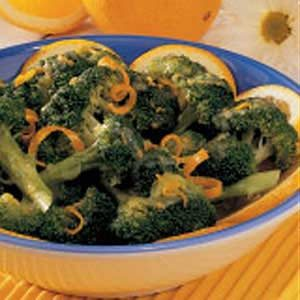 Broccoli with Orange Sauce Recipe