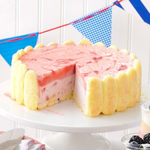 Strawberry Ice Cream Charlotte Recipe