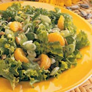 Mandarin Tossed Salad Recipe