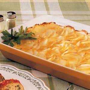 Cheesy Scalloped Potatoes Recipe