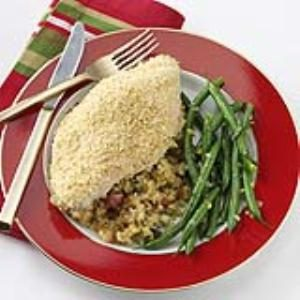 Chicken with Corn Bread Stuffing Recipe