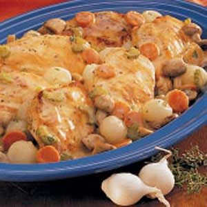 Creamy Braised Chicken Recipe
