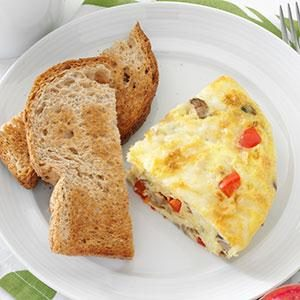 """What's in the Fridge"" Frittata Recipe"
