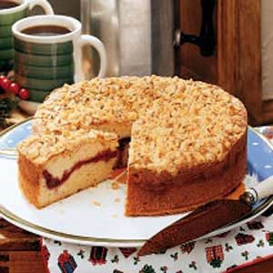 Cranberry Crumble Coffee Cake Recipe