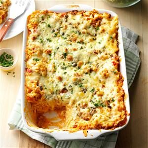 Buffalo Chicken Lasagna Recipe