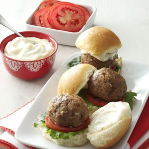 BLT Meatball Sliders Recipe