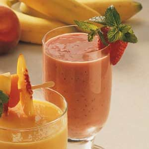 Strawberry Yogurt Smoothies Recipe