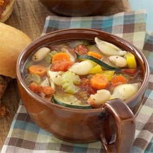 Microwave Minestrone Recipe