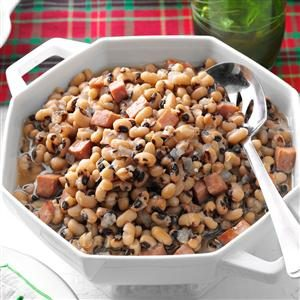 Black-Eyed Peas with Ham Recipe