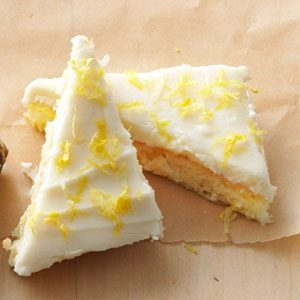 Lemon Angel Cake Bars Recipe