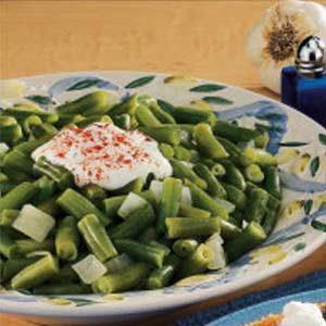 Skillet Green Beans Recipe