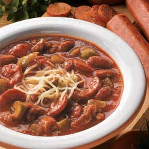 Pepperoni Pizza Chili Recipe