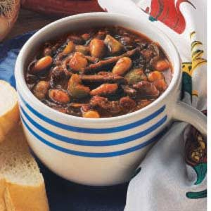 Barbecued Beef Chili Recipe