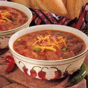California Pepper Chili Recipe