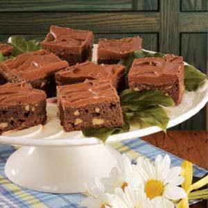 Mocha Walnut Brownies