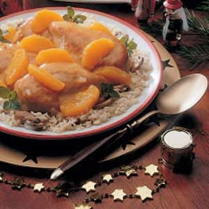 Orange Onion Chicken Recipe