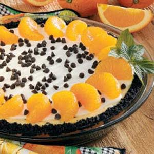 Orange Chip Cheesecake