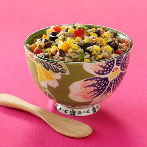 Fiesta Rice and Bean Salad Recipe