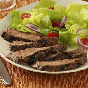 Chocolate-Chipotle Sirloin Steak
