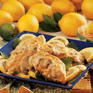 Lemon Cream Chicken Recipe