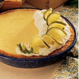 Texas Lime Pie Recipe