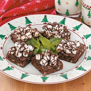 Makeover Rocky Road Fudge Brownies Recipe