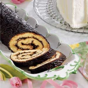 Lincoln Log Cake Recipe