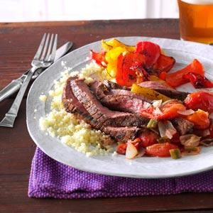Cumin-Chili Spiced Flank Steak