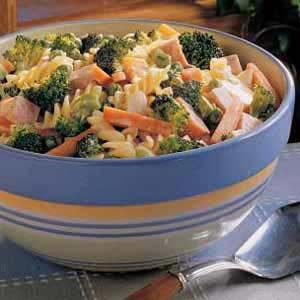 Creamy Vegetable Pasta Salad Recipe
