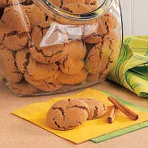 Cinnamon Snaps Recipe