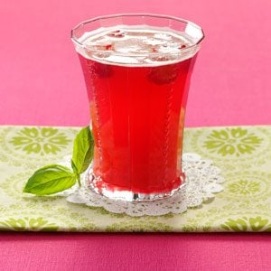 Bella Basil Raspberry Tea Recipe