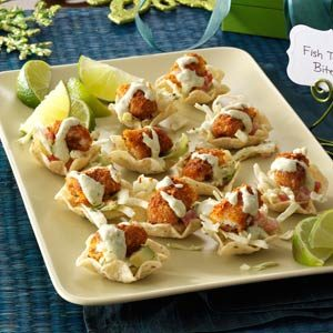 Fish Taco Bites Recipe