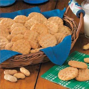 No-Fuss Peanut Butter Cookies Recipe