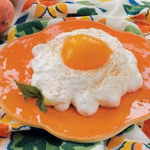 Fried Egg Peaches Recipe