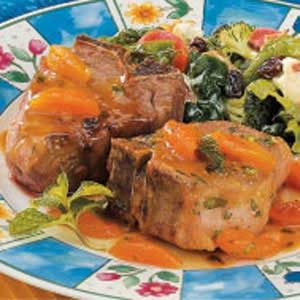 Apricot Lamb Chops Recipe