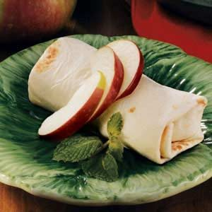 Caramel Apple Burritos
