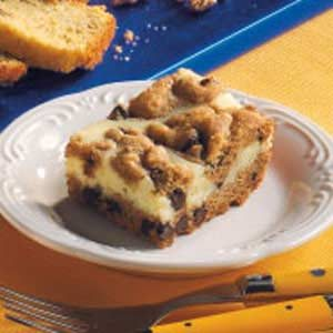 Chocolate Chip Cheese Bars