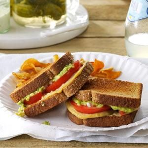 Tomato & Avocado Sandwiches Recipe