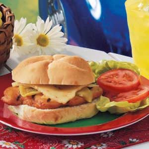 Green Chili Chicken Sandwiches Recipe