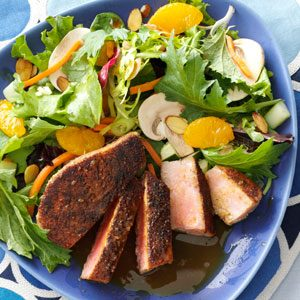 Tuna with Citrus Ponzu Sauce Recipe