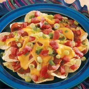 Easy Cheesy Nachos