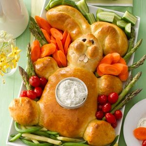 Easter Bunny-Shaped Recipes