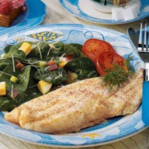 Broiled Orange Roughy Recipe