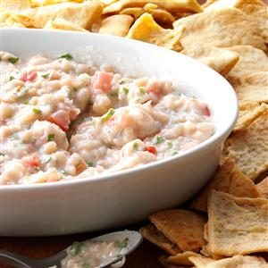 Basil White Bean Dip Recipe