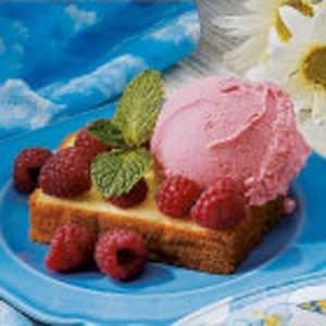 Pound Cake with Sherbet Recipe